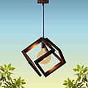 """Подвесная люстра """"MOBIUS"""" Е27 натуральное дерево/темный цвет/loft освещение, фото 3"""