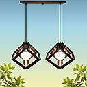 """Подвесная люстра """"MOBIUS-2"""" Е27 натуральное дерево/темный цвет/loft освещение, фото 3"""