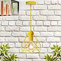 """Подвесной металлический светильник, современный стиль, loft, vintage, modern style """"RUBY-E"""" Е27  желтый цвет, фото 7"""
