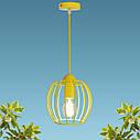"""Подвесной металлический светильник, современный стиль """"BARREL-E"""" Е27  желтый цвет, фото 5"""