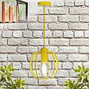 """Подвесной металлический светильник, современный стиль """"BARREL-E"""" Е27  желтый цвет, фото 7"""
