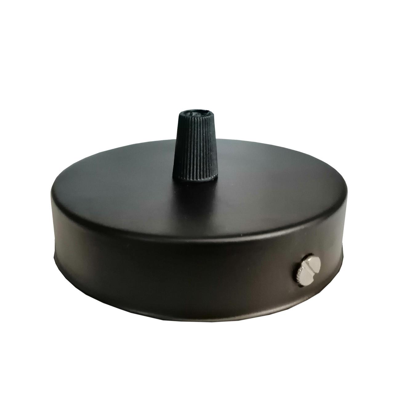 Комплект для монтажа люстры, монтажная основа для крепления подвесных светильников цвет черный