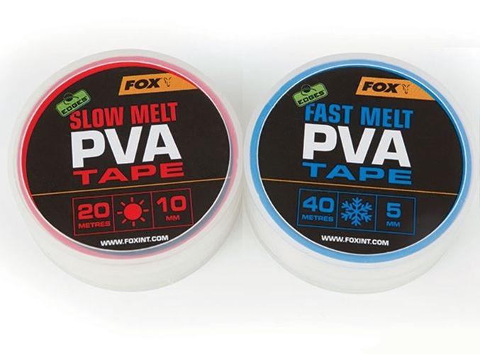 ПВА лента быстрорастворимая FOX Edges Fast melt PVA Tape 5mm x 40m