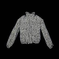 Светоотражающая демисезонная серая женская куртка на рост 158-176
