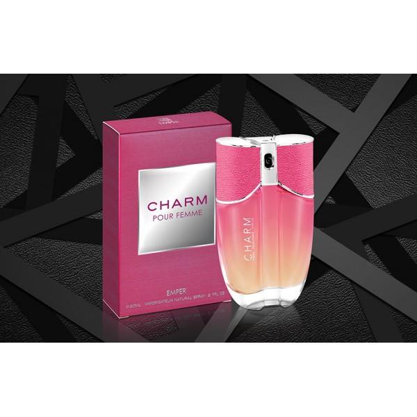 Женская парфюмированная вода Charm Pink Emper 80 ml.Emper (100% ORIGINAL)