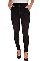 Черные скинни джинсы оптом Premium 4286  (лот 12шт по 16Є)