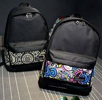 Рюкзак молодежный, городской с орнаментом.