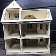Оригинальный деревянный домик для кукол, фото 3