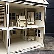 Оригинальный деревянный домик для кукол, фото 4