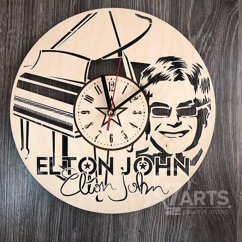 """Оригинальные настенные часы """"Элтон Джон"""", фото 2"""
