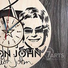 """Оригинальные настенные часы """"Элтон Джон"""", фото 3"""