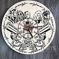 """Концептуальные настенные часы в интерьер """"Guns N` Roses"""""""