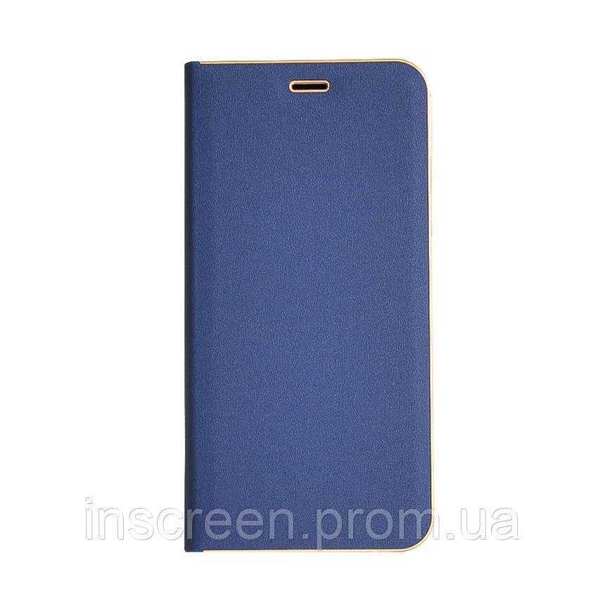 Чехол-книжка Florence TOP 2 Samsung J810 J8 (2018) синий, фото 2