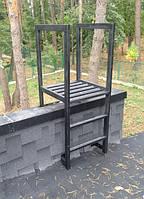 Лестница стальная техническая