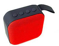 Портативная Bluetooth колонка T5, красная, фото 1