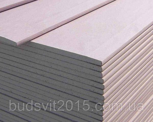 Гипсокартон стеновой Knauf 12,5x1200х2500 мм (52)