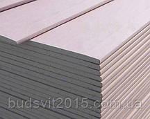 Гіпсокартон стіновий Knauf 12,5х1200х2500 мм (52)