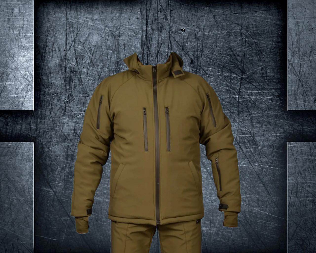 Куртка тактическая СОФТ ШЕЛЛ зима
