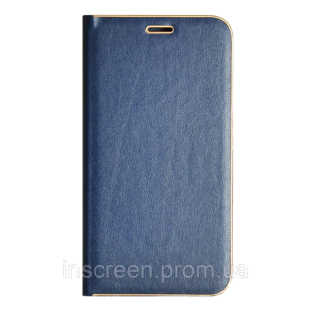 Чохол-книжка Florence TOP 2 Samsung J400 J4 (2018) під шкіру синій