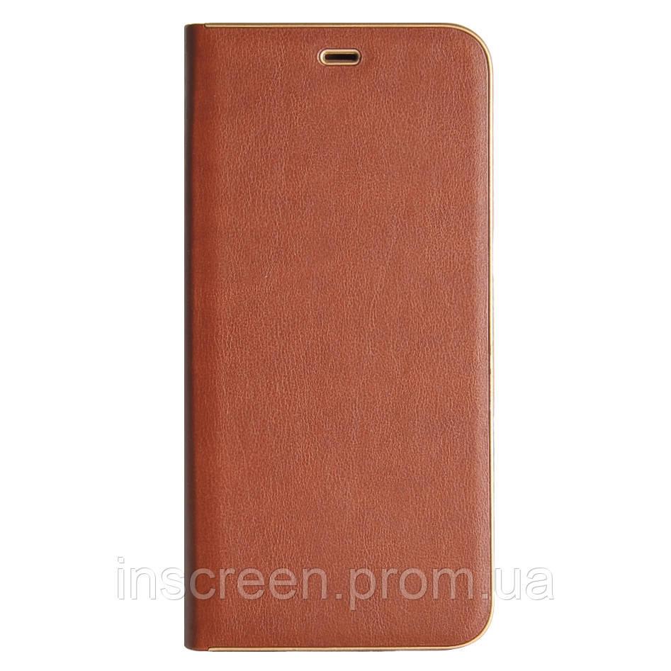 Чохол-книжка Florence TOP 2 Samsung A307F,A505F A30s,A50 (2019) під шкіру коричневий