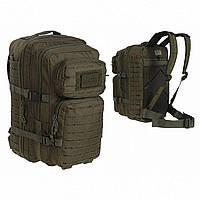 Рюкзак тактический Mil-Tec laser cut assault штурмовой олива большой