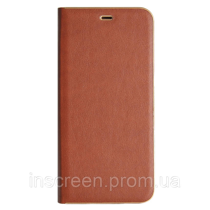 Чохол-книжка Florence TOP 2 Samsung A600 A6 (2018) коричневий, фото 2
