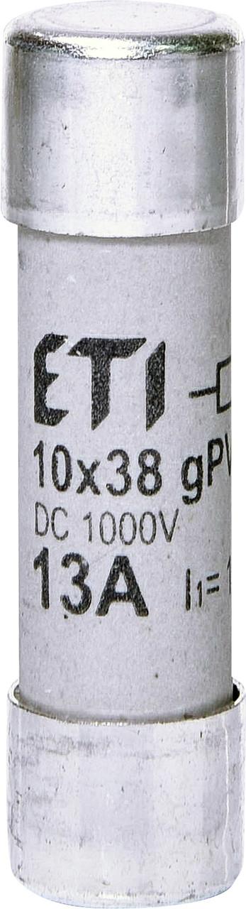 Предохранитель ETI CH 10x38 gPV 13A 1000V DC UL 10kA 2625137 (для фотоэлектрических систем PV)