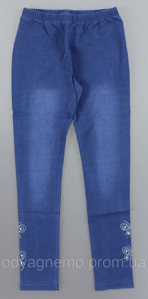 Лосины с имитацией джинсы для девочек Sincere оптом, 98-128 pp. Артикул: LL2620