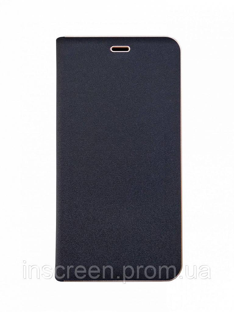 Чехол-книжка Florence TOP 2 Huawei Y7 (2018) Prime черный