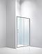 Душевая дверь Dusel FА-512, 140х190, дверь раздвижная, стекло прозрачное, фото 2