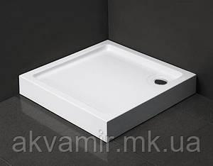 Душовий піддон Dusel D102 квадратний, 90х90х13,5 см