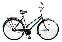 "Велосипед 28"" УКРАЇНА LUX, модель 65 ХВЗ Чорний"