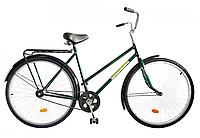 """Велосипед 28"""" УКРАЇНА, модель 15 ХВЗ Зелений"""