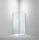 Душевая кабина Dusel А-516, 100х100х190, дверь распашная, стекло прозрачное, фото 9