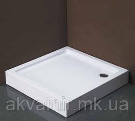 Душовий піддон Dusel D102 квадратний, 100х100х13,5 см
