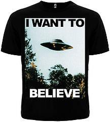 Футболка The X-Files: I Want to Believe, Размер M