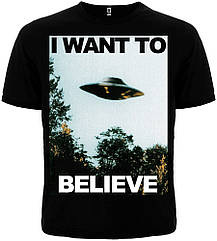 Футболка The X-Files: I Want to Believe, Размер L
