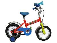 """Велосипед детский с бок. колесами 12"""" TIGER, модель 58 ХВЗ"""