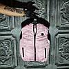 Детская жилетка розовая для девочек
