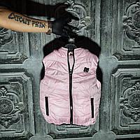 Детская жилетка розовая для девочек, фото 1