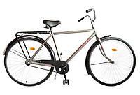 """Велосипед 28"""" УКРАЇНА LUX, модель 64 ХВЗ Сріблястий"""