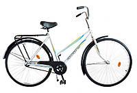 "Велосипед 28"" УКРАЇНА LUX, модель 65 ХВЗ Білий"