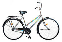 "Велосипед 28"" УКРАИНА LUX, модель 65 ХВЗ Серебристый, фото 1"