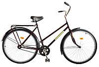 """Велосипед 28"""" УКРАЇНА, модель 15 ХВЗ Бордовий"""