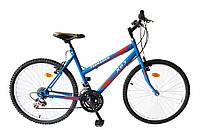 """Велосипед многоскоростной 24"""" TEENAGER модель 47  ХВЗ Синий, фото 1"""