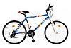 """Велосипед многоскоростной 26"""" ЭДЕЛЬВЕЙС, модель 46 ВА SH ХВ Бело-синий"""