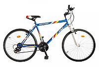 """Велосипед многоскоростной 26"""" ЭДЕЛЬВЕЙС, модель 46 ВА SH ХВ Бело-синий, фото 1"""