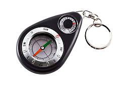 Компас-брелок с термометром TSC-12