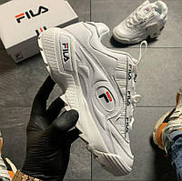 Fila D-Formation Sneakers White | кроссовки женские; белые; осенние / весенние; фила