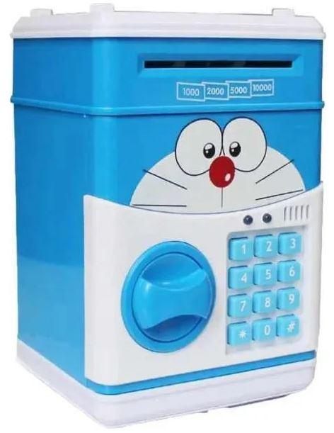 Сейф-скарбничка дитячий Cartoon Box 7030 з кодовим замком, кіт